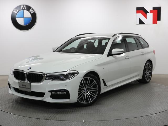BMW 523iツーリング Mスポーツ 19インチAW アクティブクルーズコントロール パドルシフト 全周囲カメラ FRセンサー LED 衝突軽減 車線逸脱 USB コンフォートアクセス 電動リヤゲート