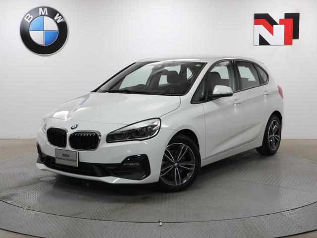 BMW 218dアクティブツアラー スポーツ 17インチAW コンフォートパッケージ Rカメラ FRセンサー LED 衝突警告 車線逸脱 USB フロントシートヒーター 電動リヤゲート コンフォートアクセス