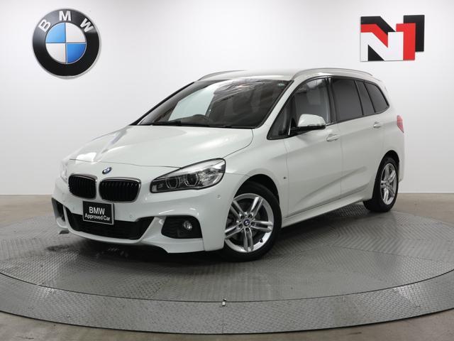 BMW 218dグランツアラー Mスポーツ 17インチAW 純正HDDナビゲーション パドルシフト  Rカメラ FRセンサー LED 衝突軽減 車線逸脱 USB