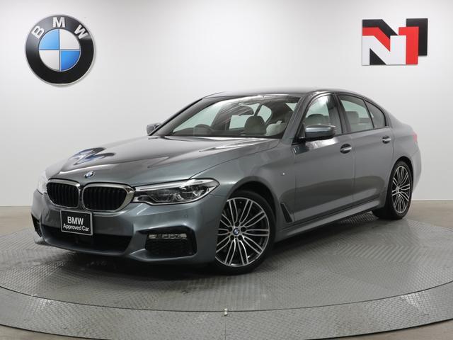 BMW 5シリーズ 530i Mスポーツ 19インチAW アイボリーレザー内装 アクティブクルーズコントロール イノベーションパッケージ 衝突軽減 車線逸脱 全周囲カメラ FRセンサー ヘッドアップディスプレイ LED USB