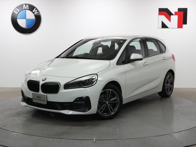 BMW 218dアクティブツアラー スポーツ 17インチAW  コンフォートパッケージ Rカメラ FRセンサー LED 衝突軽減 車線逸脱 フロントシートヒーター 電動リヤゲート USB