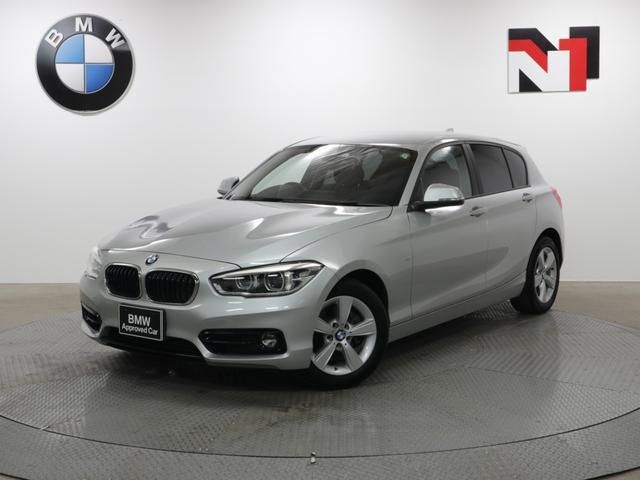 BMW 1シリーズ 118i スポーツ 16インチAW コンフォートパッケージ クルーズコントロール Rカメラ Rセンサー LED 衝突警告 車線逸脱 USB パーキングサポートパッケージ