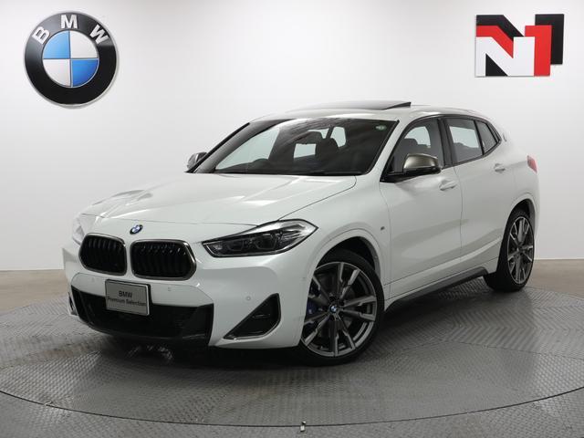 BMW M35i 20インチAW セレクトパッケージ アクティブクルーズコントロール パドルシフト LED 衝突軽減 車線逸脱 USB ヘッドアップディスプレイ Rカメラ FRセンサー 電動リヤゲート