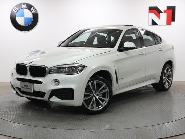 BMW X6 xDrive 35i Mスポーツ 20インチAW 電動ガラスサンルーフ セレクトパッケージ プライムパッケージ アクティブクルーズコントロール パドルシフト アダプティブLED 全周囲カメラ FRセンサー 衝突軽減 車線逸脱 USB