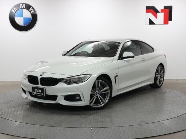 BMW 435iクーペ Mスポーツ 19AW アクティブクルーズコントロール パドルシフト ヘッドアップディスプレイ LED 衝突警告 車線逸脱 USB Rカメラ FRセンサー フロントシートヒーター
