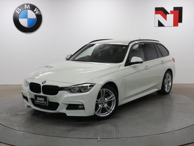 BMW 320d Mスポーツ 18インチAW アクティブクルーズコントロール パドルシフト Rカメラ FRセンサー LED 衝突軽減 車線逸脱 USB 電動リヤゲート フロントシートヒーター