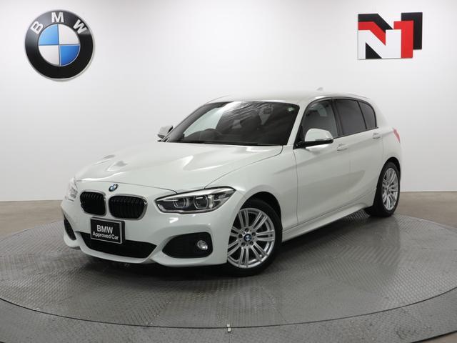 BMW 1シリーズ 118d Mスポーツ 17インチAW コンフォートPKG クルーズコントロール Rカメラ Rセンサー LED 衝突警告 車線逸脱 USB コンフォートアクセス