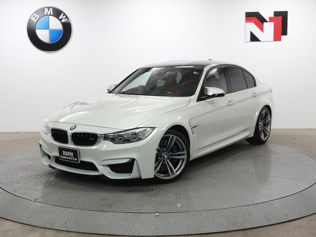 BMW M3 M3 19インチAW サキールオレンジ内装 クルーズコントロール パドルシフト Rカメラ LED 衝突警告 車線逸脱 USB