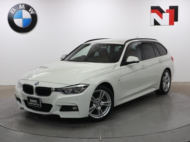 BMW 3シリーズ 320i Mスポーツ 18インチAW コニャックレザー内装 アクティブクルーズコントロール Rカメラ FRセンサー LED 衝突警告 車線逸脱 USB パドルシフト 電動リヤゲート フロントシートヒーター