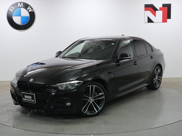 BMW 3シリーズ 320d Mスポーツ エディションシャドー 19インチAW アクティブクルーズコントロール パドルシフト Rカメラ FRセンサー LED 衝突警告 車線逸脱 USB コンフォートアクセス