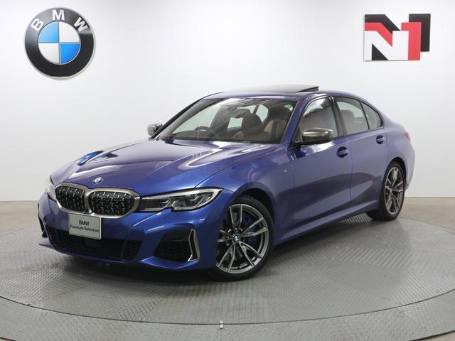 BMW M340i xDrive 19AW 電動ガラスサンルーフ アクティブクルーズコントロール アダプティブMサスペンション レーザーライト 全周囲カメラ FRセンサー パドルシフト 衝突軽減 車線逸脱 ヘッドアップディスプレイ
