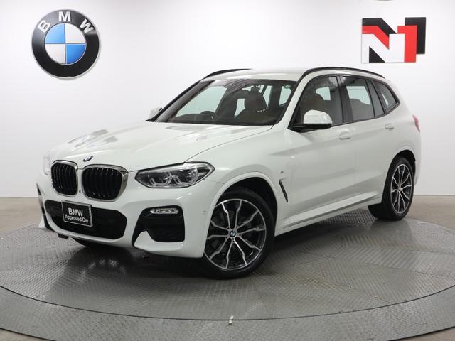 BMW X3 xDrive 20d Mスポーツ 20AW コニャックレザー内装 ハイラインパッケージ アクティブクルーズコントロール 全周囲カメラ FRセンサー 衝突軽減 車線逸脱 USB パドルシフト イノベーションパッケージ