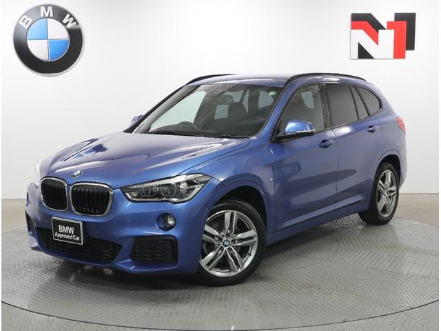 BMW X1 xDrive 18d Mスポーツ 18インチAW コンフォートパッケージ アクティブクルーズコントロール Rカメラ FRセンサー パドルシフト LED 衝突軽減 車線逸脱 USB フロントシートヒーター コンフォートアクセス