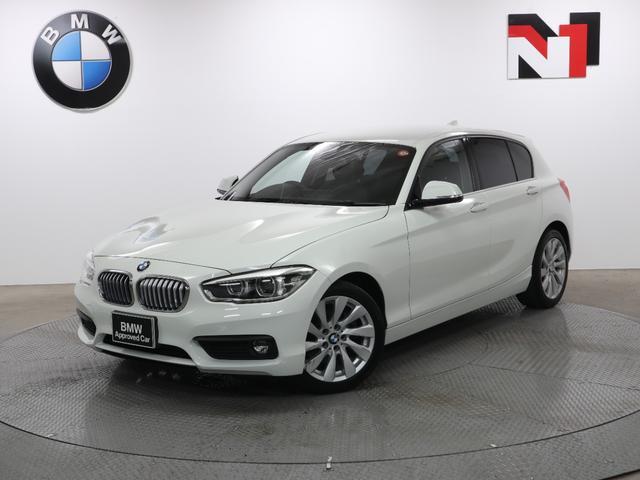 BMW 118i セレブレーションエディション マイスタイル 17インチAW MyStyle クルーズコントロール Rカメラ Rセンサー LED 衝突警告 車線逸脱 フロントシートヒーター USB