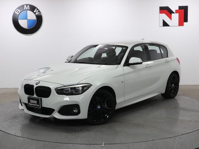BMW 118d Mスポーツ エディションシャドー 18インチAW アップグレードパッケージ アクティブクルーズコントロール Rカメラ FRセンサー LED 衝突軽減 車線逸脱 USB フロントシートヒーター ブラックレザーシート コンフォートアクセス