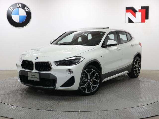 BMW X2 sDrive 18i MスポーツX 19AW 電動ガラスサンルーフ コンフォートパッケージ アクティブクルーズコントロール Rカメラ FRセンサー LED 衝突軽減 車線逸脱 SSB 電動リヤゲート フロントシートヒーター