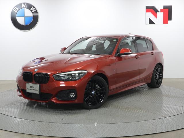 BMW 1シリーズ 118i Mスポーツ エディションシャドー 18AW アクティブクルーズコントロール Rカメラ FRセンサー LED 衝突軽減 車線逸脱 フロントシートヒーター コンフォートアクセス