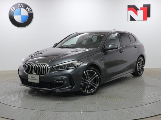 BMW 118d Mスポーツ エディションジョイ+ 18インチAW ブラックレザー クルーズコントロール Rカメラ FRセンサー LED 衝突軽減 車線逸脱 USB フロントシートヒーター コンフォートアクセス 純正HDDナビゲーション