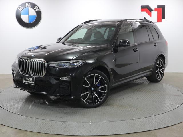 BMW xDrive 35d Mスポーツ 22AW 電動パノラマガラスサンルーフ スカイラウンジ リヤエンターテインメント アクティブクルーズコントロール レーザーライト 衝突軽減 車線逸脱 パドルシフト 全周囲カメラ FRセンサー