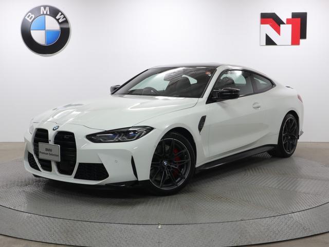 BMW M4 M4クーペ コンペティション 19AW アクティブクルーズコントロール パドルシフト 全周囲カメラ FRセンサー レーザーライト 衝突軽減 車線逸脱 コンフォートアクセス Harman/Kardon ヘッドアップディスプレイ
