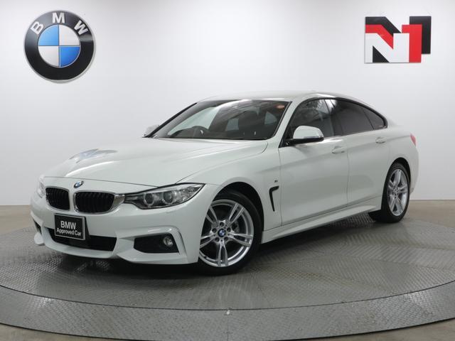 BMW 4シリーズ 420iグランクーペ Mスポーツ 18インチAW アクティブクルーズコントロール パドルシフト Rカメラ FRセンサー キセノン 衝突軽減 車線逸脱 USB 電動リヤゲート コンフォートアクセス