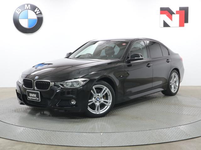 BMW 318i Mスポーツ 18インチAW ストレージパッケージ クルーズコントロール Rカメラ FRセンサー LED 衝突軽減 車線逸脱 USB コンフォートアクセス