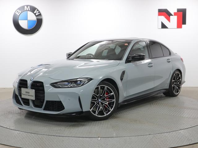 BMW M3 M3セダン コンペティション 19AW アクティブクルーズコントロール パドルシフト 全周囲カメラ FRセンサー レーザーライト 衝突軽減 車線逸脱 USB ブラックレザーシート フロントシートヒーター