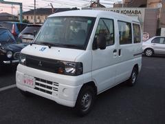 ミニキャブバンCL ハイルーフ 福祉車両 リフト