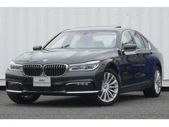 BMW740サンルーフプラスPヘッドUPアイボリー革19AWウッド