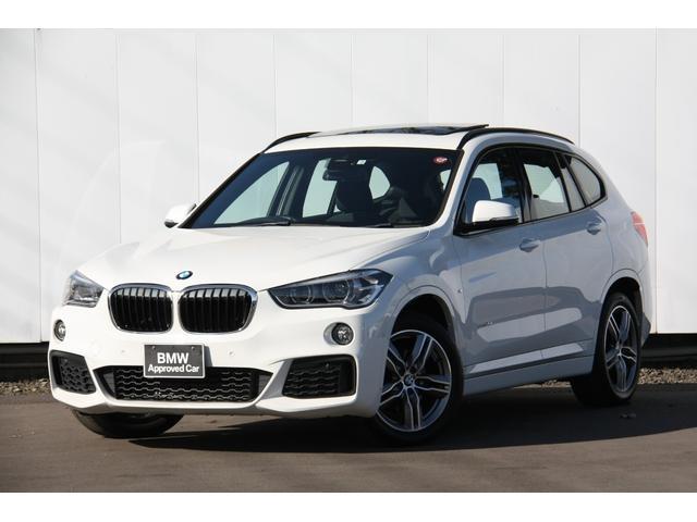 BMW sDrive 18i Mスポーツパッケージ パノラマサンルーフ HDDナビ バックカメラ 自動縦列駐車アシスト 前車衝突被害軽減ブレーキ 歩行者警告 車線逸脱警告 Bluetooth ミュージックサーバー