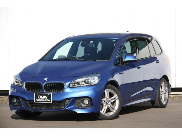 BMW 2シリーズ 218iグランツアラー Mスポーツ アドバンストアクティブセーフティ―パッケージ アクティブクルーズコントロール ヘッドアップディスプレイ 電動リアゲート スマートキー HDDナビ バックカメラ