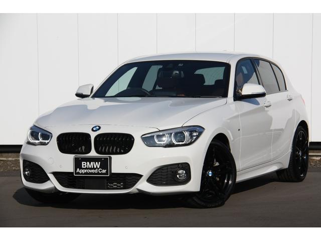 BMW 118d Mスポーツ エディションシャドー コニャックレザー シートヒーター メモリー機能付き電動シート アクティブクルーズコントロール 衝突被害軽減ブレーキ 歩行者警告 車線逸脱警告 18インチアルミ ブラックグリル 自動縦列駐車アシスト