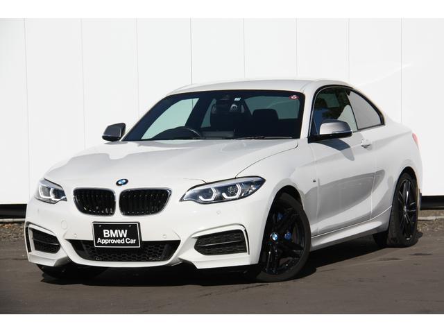 BMW M240iクーペ 後期モデル タッチパネルナビ バックカメラ 自動縦列駐車アシスト 18インチブラックアルミ Bluetooth ミュージックコレクション 黒レザー