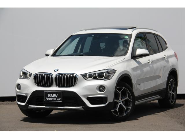 BMW X1 xDrive 18d xライン ハイラインパッケージ セレクトP ハイライン サンルーフ モカレザー 電動シート シートヒーター コンフォートパッケージ バックカメラ 自動縦列駐車アシスト 電動リアゲート
