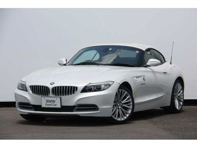 BMW Z4 デザイン・ピュア・バランス・エディション 特別仕様車デザインピュアバランスエディション 専用ボディーカラーミネラルホワイト18インチアルミ メリノレザーシートレザーダッシュボード HDDナビ