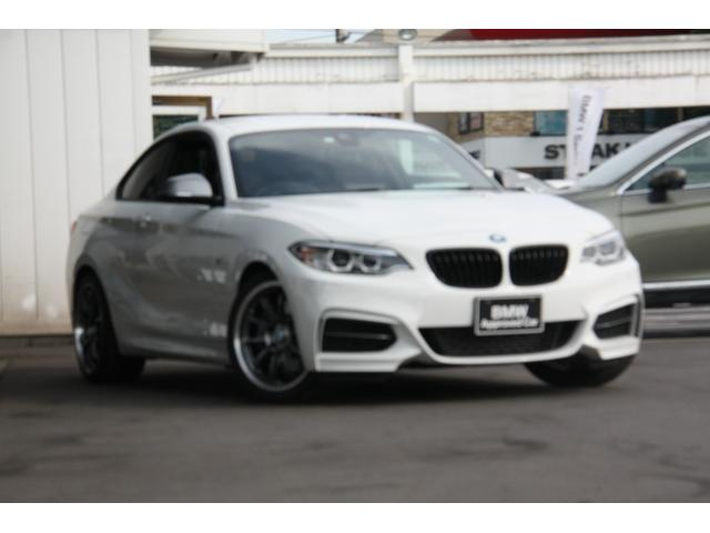 BMW M235iクーペ 6速MT 直6ツインパワーターボエンジン  アドバンスポーツ18インチアルミ HDDナビ バックカメラ Bluetooth ミュージックコレクション インテリジェントセーフティ―