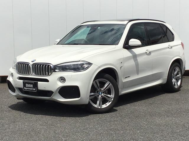 BMW X5 xDrive 35d Mスポーツ クリーンディーゼル Mスポーツ セレクトパッケージ LEDヘッドライト パノラマサンルーフ ブラックレザー 前後シートヒーター