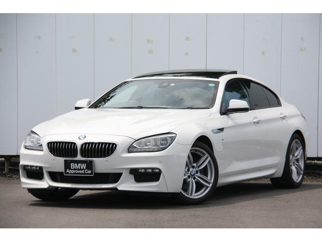 BMW 6シリーズ 640iグランクーペ Mスポーツ アダプティブLEDヘッドライト サンルーフ ブラックレザー 地デジ