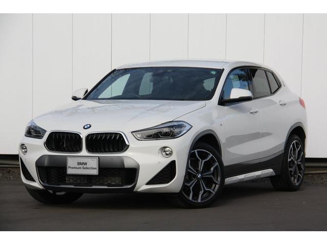 BMW X2 xDrive 20i MスポーツX 4WD Mスポーツ アクティブクルーズコントロール ヘッドアップディスプレイ 19インチアルミ タッチパネルナビ バックカメラ Bluetooth ミュージックコレクション 電動リアゲート