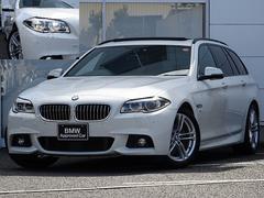 BMW528Mスポ後期SR黒革ACCLEDマルチメーター1オナ禁煙
