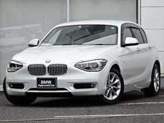 BMW116スタイルプラスPフル革ヒータウッドSOS後期ナビカメラ