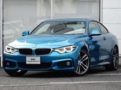 BMW420MスポLED紺革ヒータACCマルチメータ19AW地デジ