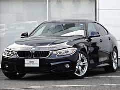 BMW420MスポIV革ウッド後方警告ACC地デジナビカメラPDC
