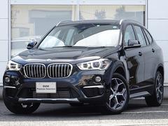 BMW X1x18dxラインハイライン薄茶革コンフォート縦列駐車18AW