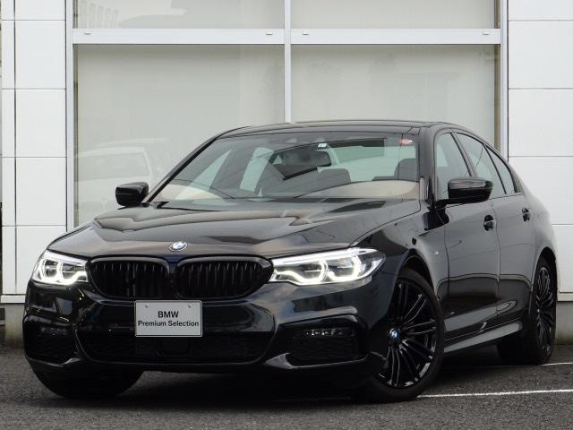 BMW 523d Mスポーツ ブラックアウト ハーマンカードン 禁煙
