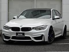 BMWM3 赤革 カーボンルーフ LED 1オーナー 喫煙