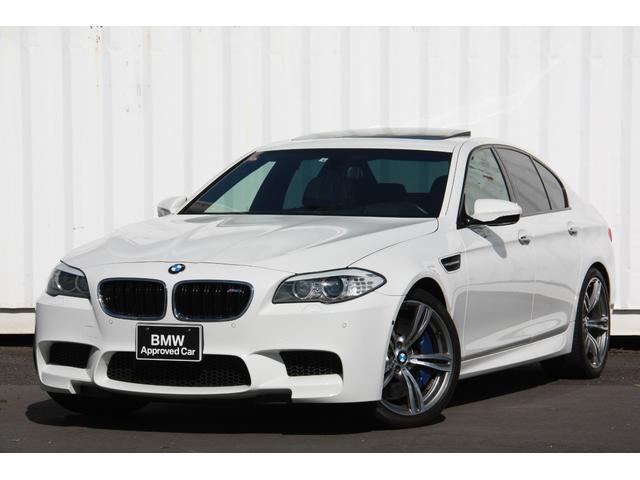 BMW M5 左H 黒革 SR 20インチAW