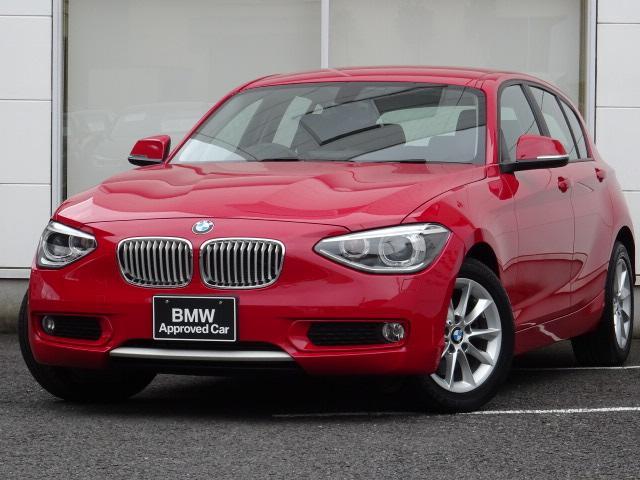 BMW 116i スタイル パーキングサポートP 半白革 禁煙