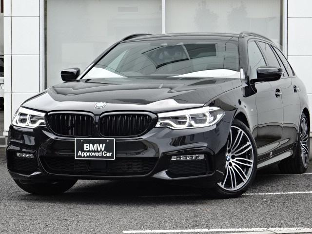 BMW 5シリーズ 523d Mスポーツ ウッドパネル アクティブクルーズコントロール レーンチェンジウォー二ング LEDライト 19インチAW HDDナビTV トップビューカメラ 前後センサー シートヒーター 電動リヤゲート 1オーナー禁煙