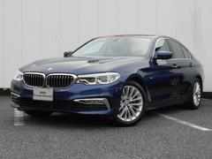 BMW523d ラグジュアリー 弊社デモカー 禁煙車 黒レザー